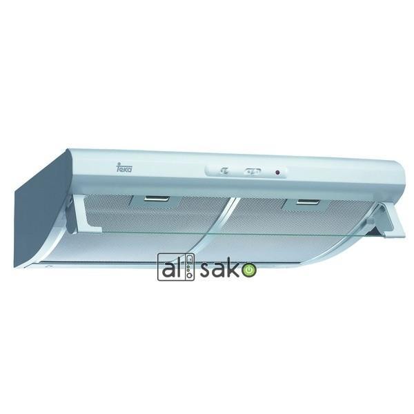 Foto campana extractora de cocina extra ble teka con frontal blanco de 60 foto 424091 - Campanas cocina teka ...
