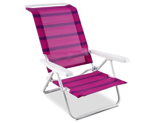 Foto carrefour playera cama 22mm silla playa 5 posiciones foto 430623 - Silla gemelar carrefour ...