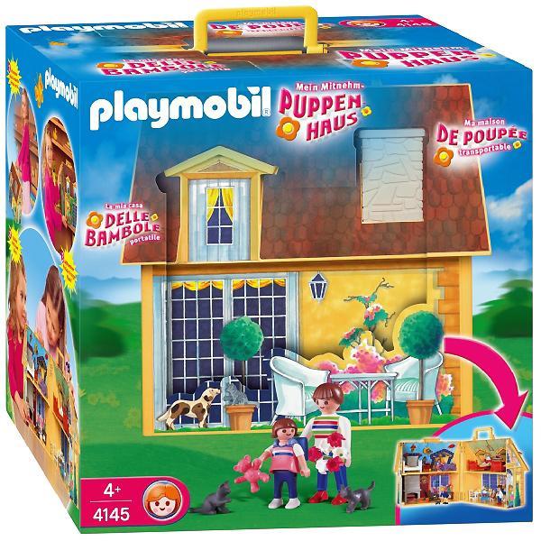 Foto casa de mu ecas malet n playmobil foto 211629 for La casa de playmobil