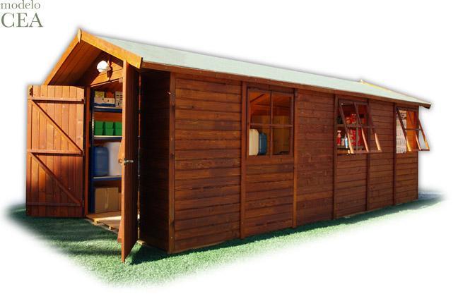 Foto casetas madera jardin cea cinco foto 457845 for Casetas de jardin metalicas baratas