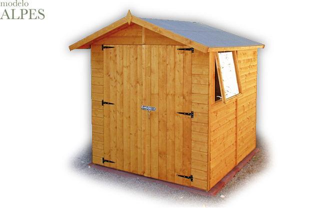 Foto caseta madera mundus 220 foto 457850 for Bodegas para jardin chile
