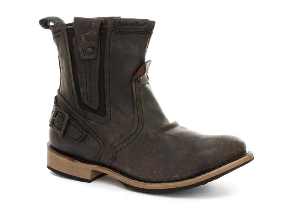 Foto CAT Caterpillar Vinson Chocolate Brown Mens Boots