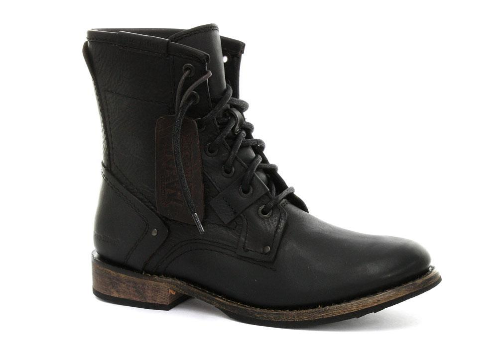 Foto Caterpillar Abe 6 Black Mens Boots