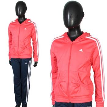 Foto Chándal yg s hooded pes ts closed rojo adidas