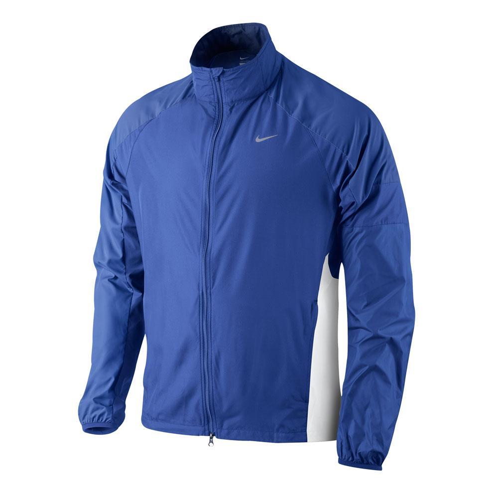 Asimilar inteligente Disipación  Foto Chaqueta paravientos Nike Windfly UL TEAM azul-plata foto 855850