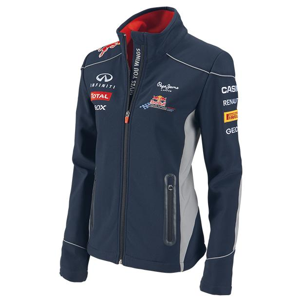 foto chaqueta softshell red bull racing 2013 de mujer foto 957609. Black Bedroom Furniture Sets. Home Design Ideas
