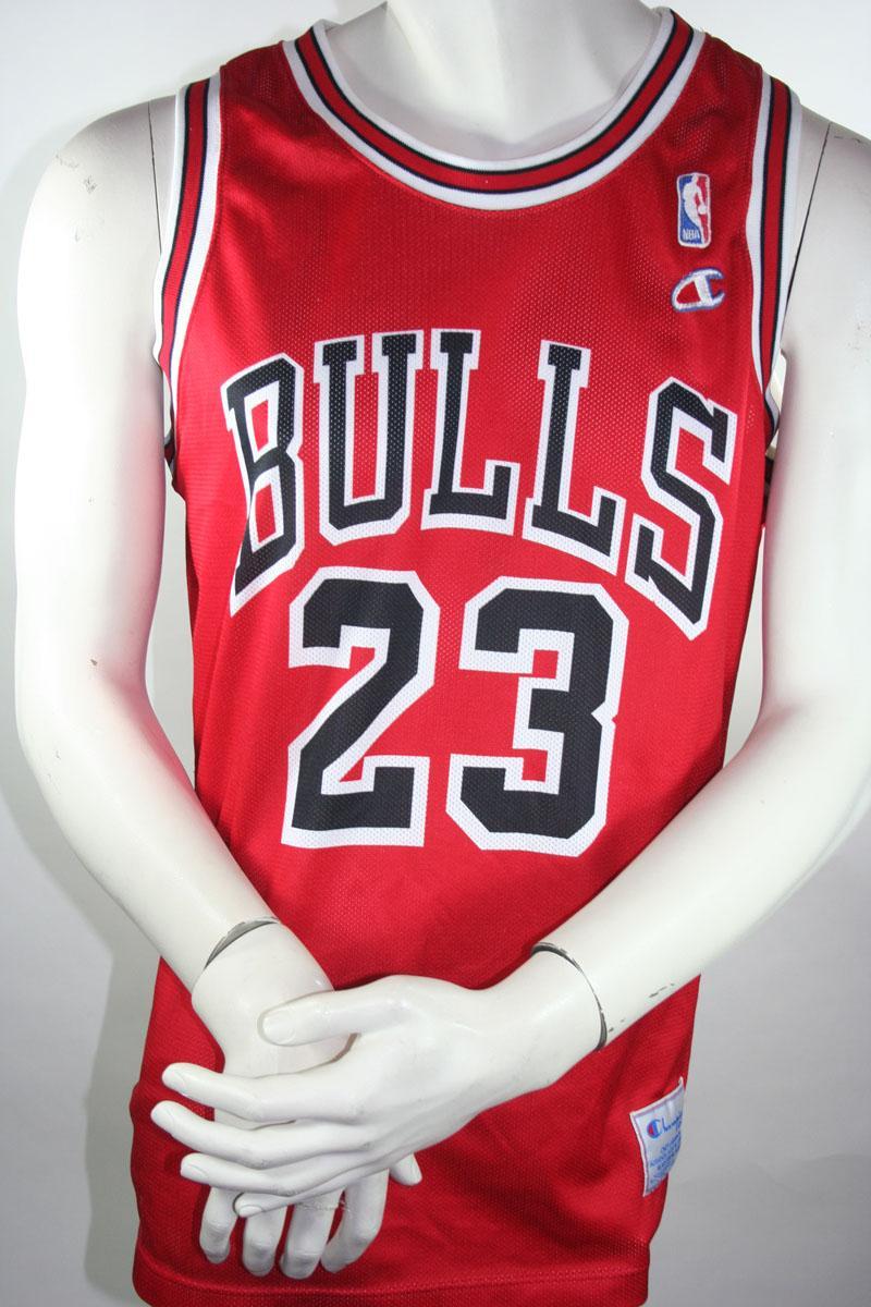 foto chicago bulls 23 michael jordan camiseta champion xl. Black Bedroom Furniture Sets. Home Design Ideas