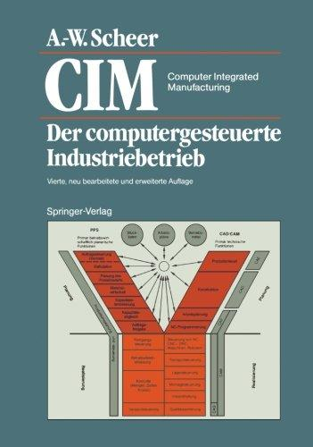 Foto CIM Computer Integrated Manufacturing: Der Computergesteuerte Industriebetrieb (German Edition)