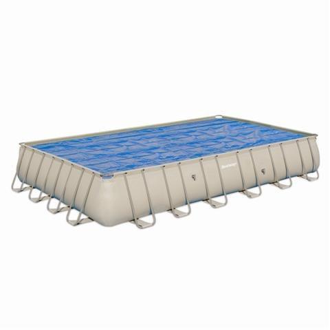 Foto cobertor solar para piscinas bestway rectangular for Piscinas bestway catalogo