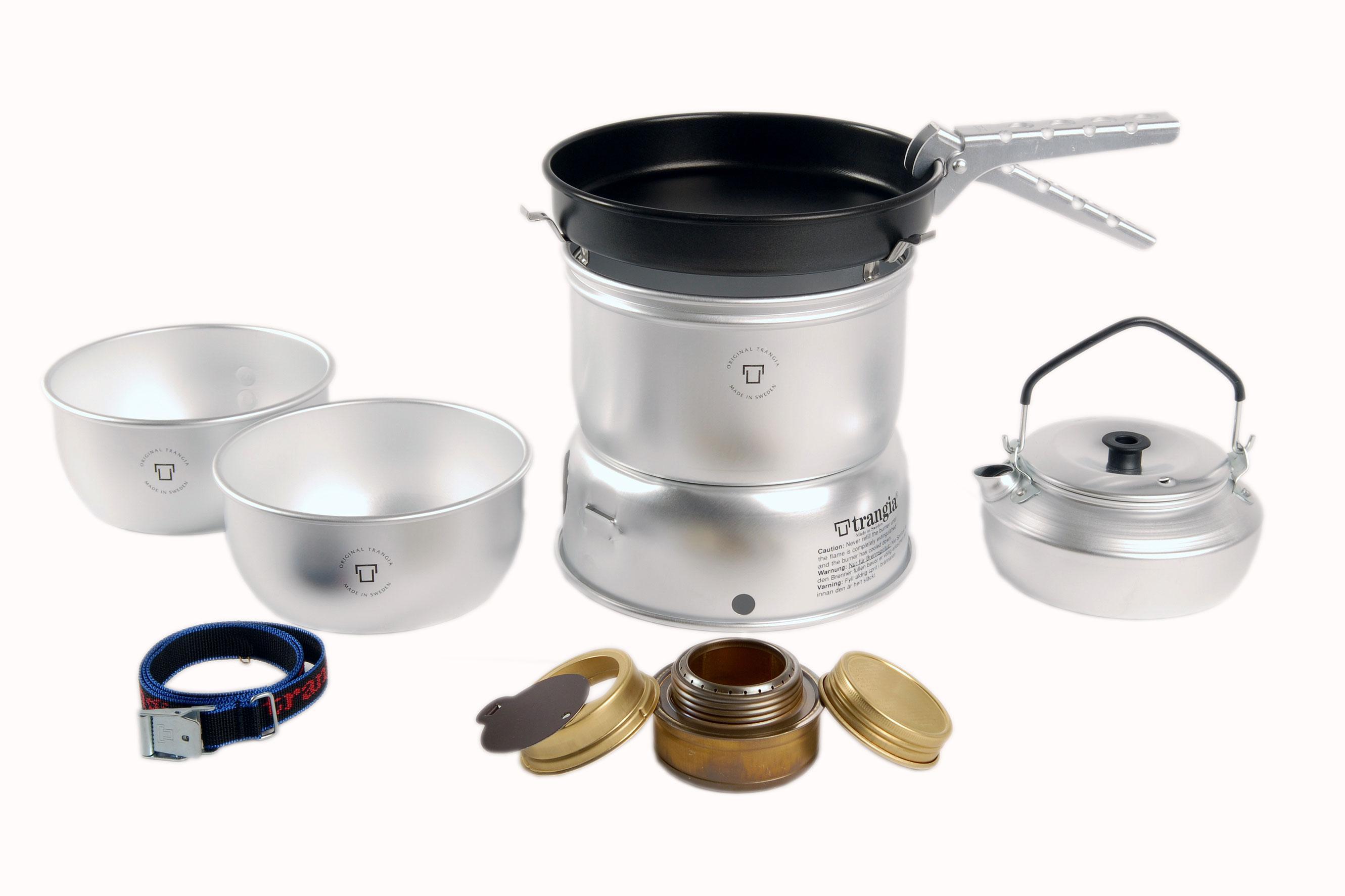 Foto hornillo y utensilios de cocina trangia 25 6 foto for Utensilios de cocina de aluminio