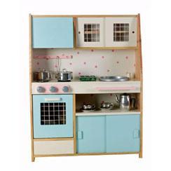 Foto cocinita de madera azul foto 101907 - Ikea cocina infantil ...