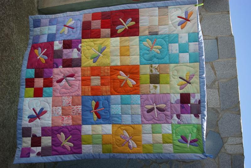 Foto colcha o manta de cama patchwork foto 944867 - Patrones para colchas de patchwork ...