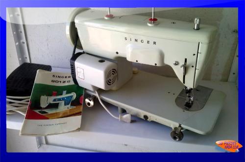 Foto Comprar Máquina de coser Singer 801-Z2 segunda mano