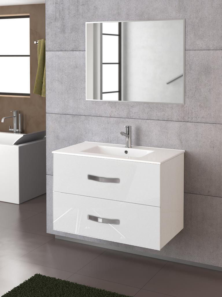 Foto Conjunto de mueble de baño Deva 80 de Torvisco con ...