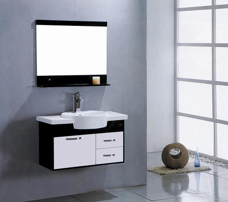 Foto Conjunto De Muebles De Ba O Lavabo Armario