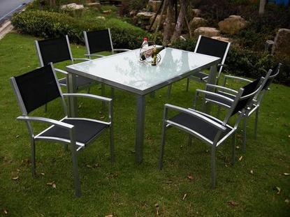 Foto mesa extensible comedor mod praga foto 55954 - Mesa plegable jardin carrefour ...