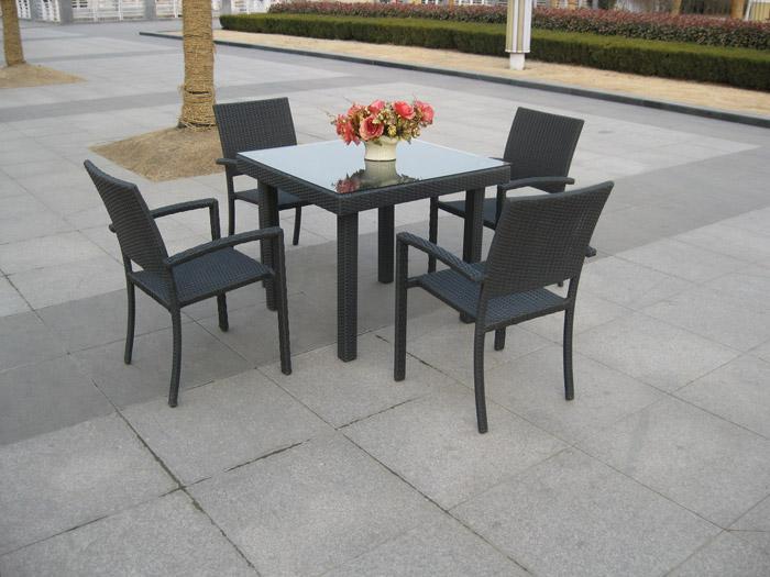 Foto conjunto terraza mesa rectangular 6 sillas mod for Oferta conjunto terraza