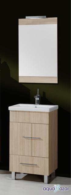 Foto conjunto mueble danubio arava 50 foto 886102 for Espejo 50 cm ancho