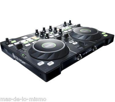 Foto mesa de mezclas hercules dj console rmx 2 2 decks for Mesa de mezclas virtual