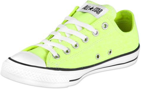 Foto Converse All Star Ox calzado fluorescente amarillo 36,0 EU 3,5 US