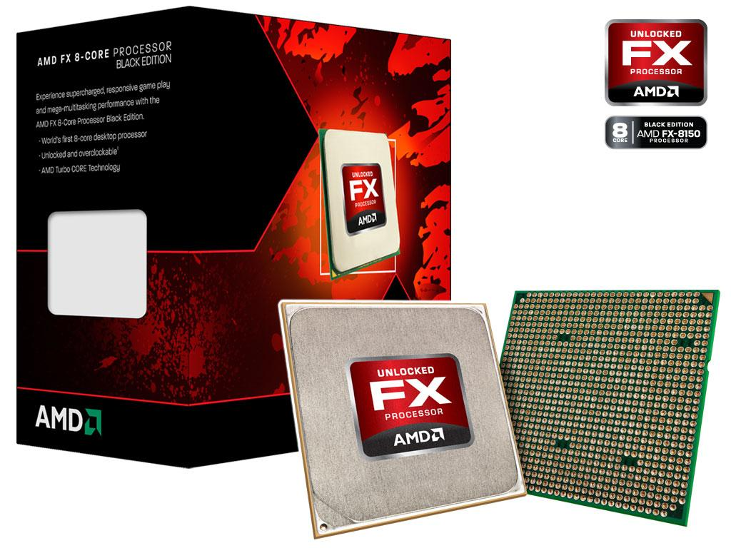 Foto Cpu amd fx6 6100 3.3ghz am3+ black 95w