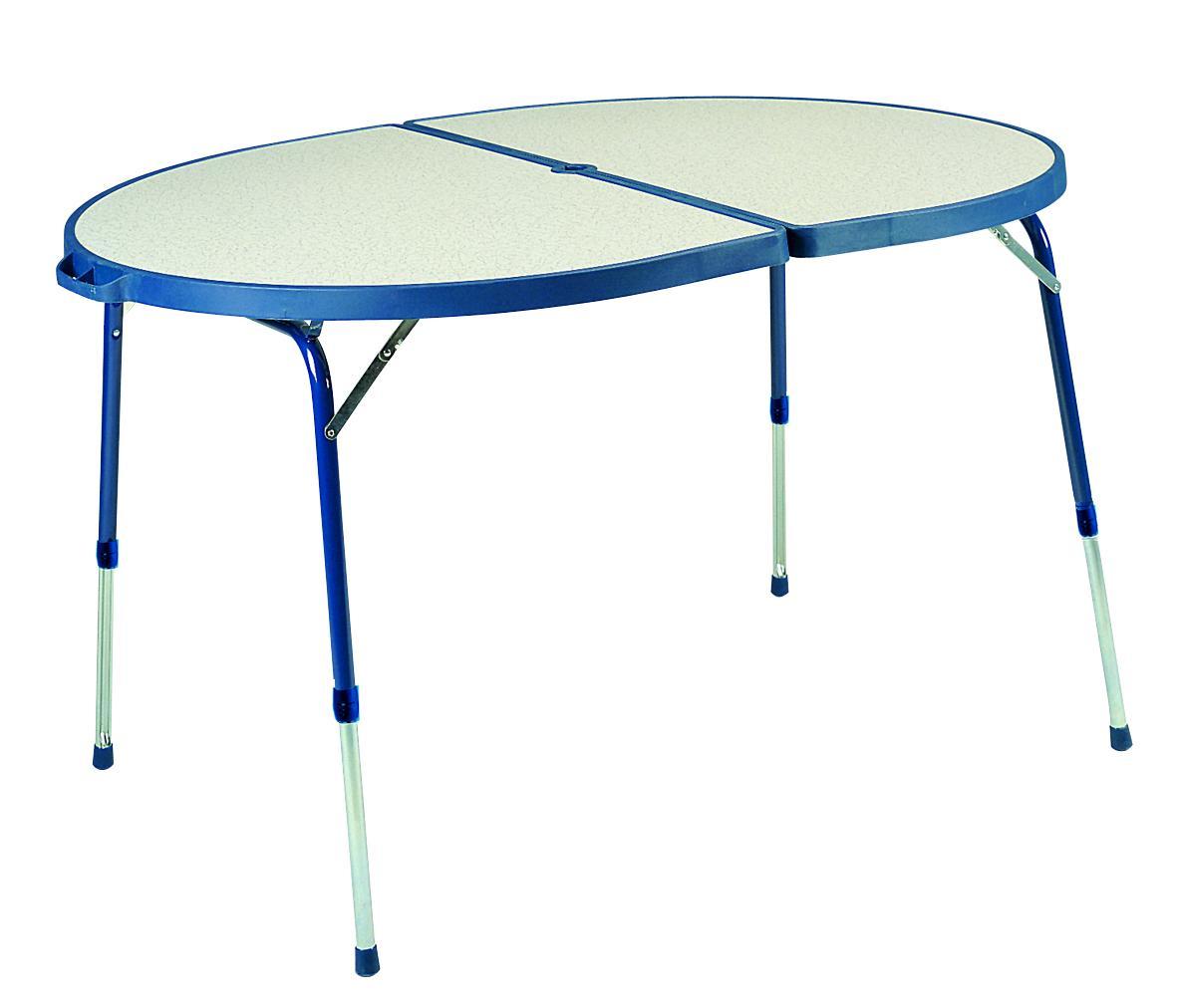 Foto crespo mesa de camping mesa plegable azul foto 222405 - Mesa plegable camping carrefour ...