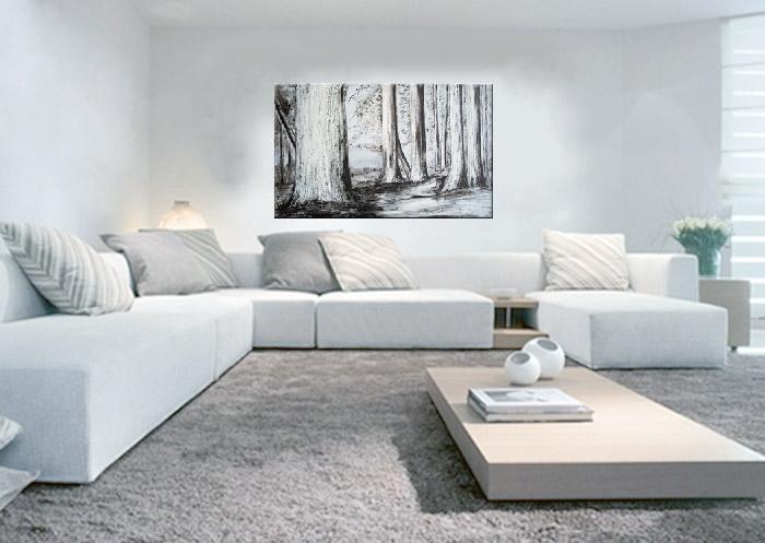 Foto espejos cuadrados 80cm foto 34280 - Cuadros modernos blanco y negro ...