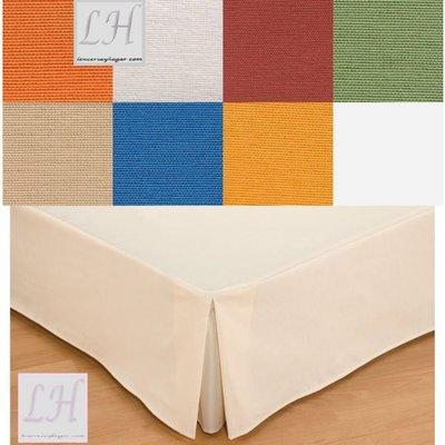 Foto cubre canape loneta cama 150 7 colores a elejir for Canape para cama 150