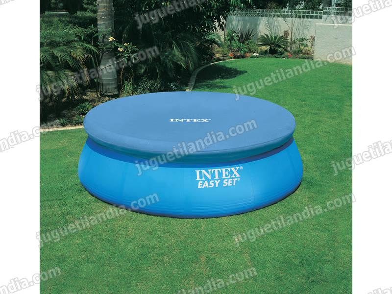 Foto cubre piscina 244 cm intex 58939 easy set foto 412559 for Cubierta piscina intex