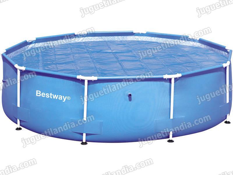 Foto cubre piscinas bestway 58106 de 300x201 cm foto 155876 for Cubre piscina bestway