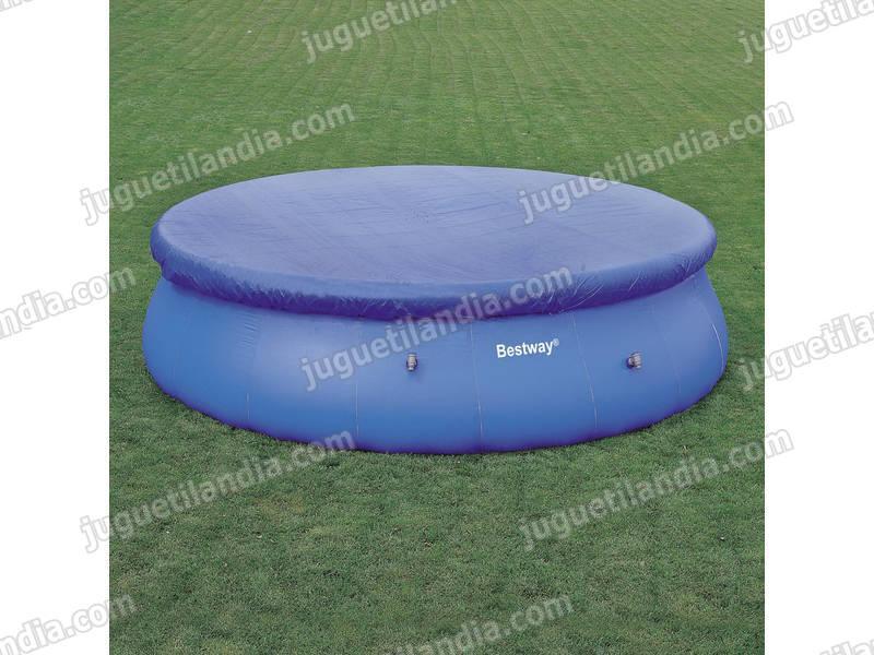 foto cobertor solar para piscinas steel pro de 427cm de