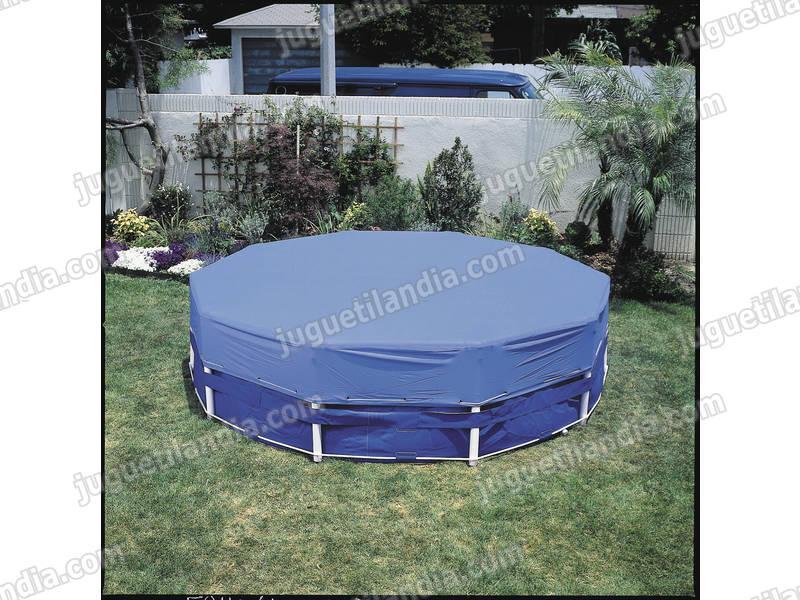 foto cubre piscinas 366 cm octogonal intex 58411 foto 375276