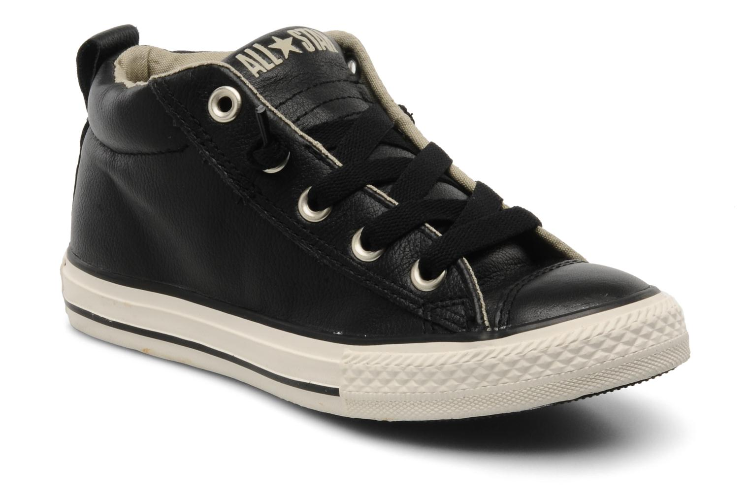 Foto Deportivas Converse Chuck taylor all star street leather mid k Niños