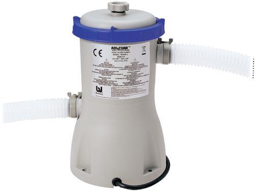 Foto depuradora por cartucho bestway de 3028 litros por for Cubre piscina bestway