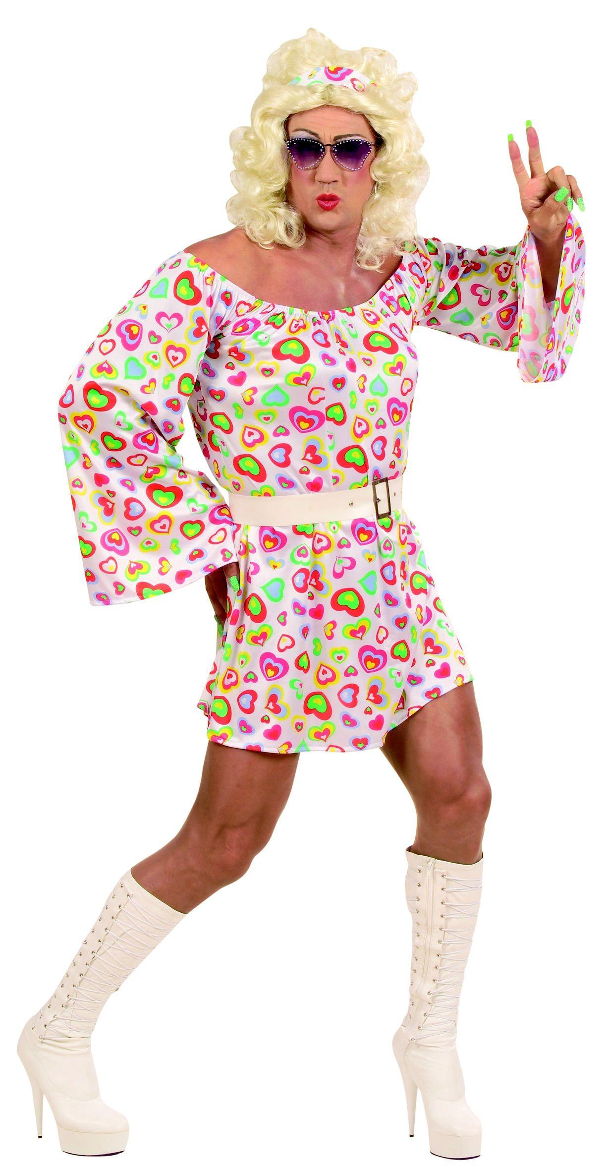Disfraz de hippie anos 60 para mujer 29 99 gastos de envio for Disfraz de hippie