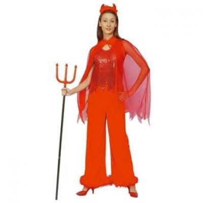 Foto Disfraz de Mujer Demonio Roja foto 247741