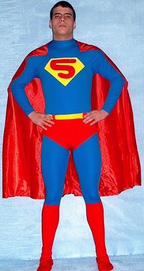 Foto Disfraz de Superman Adulto Fuerte foto 40144