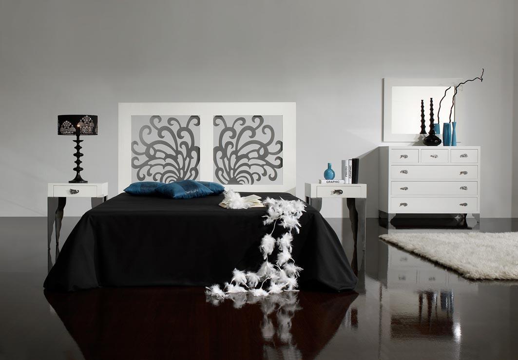 Foto cabeceros de forja tapizados modelo eros rys - Decoracion beltran ...