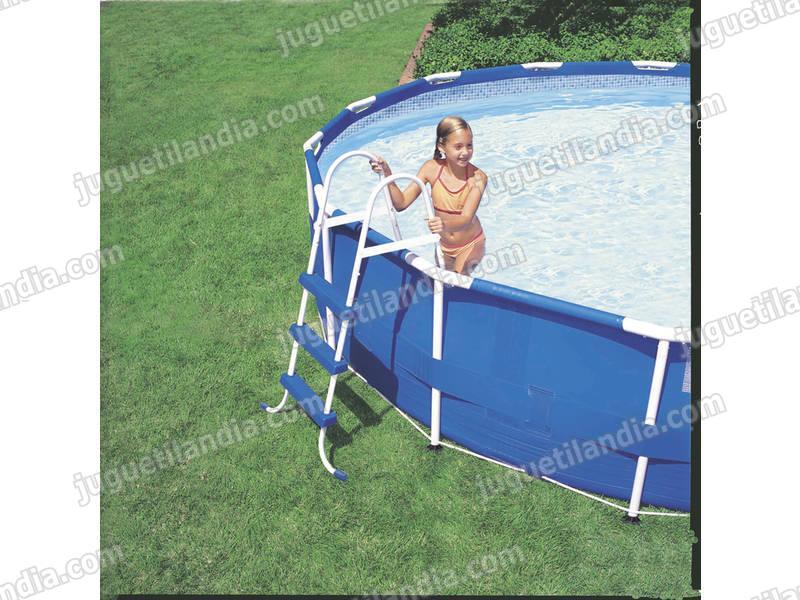Foto cubre piscinas 534 cm solar intex 59955 foto 419859 - Cubre piscinas intex ...
