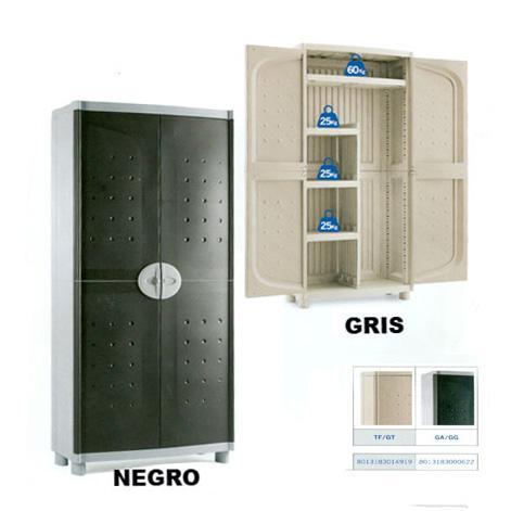 Pin armario para exterior de resina ratt n on pinterest for Armario escobero para exterior