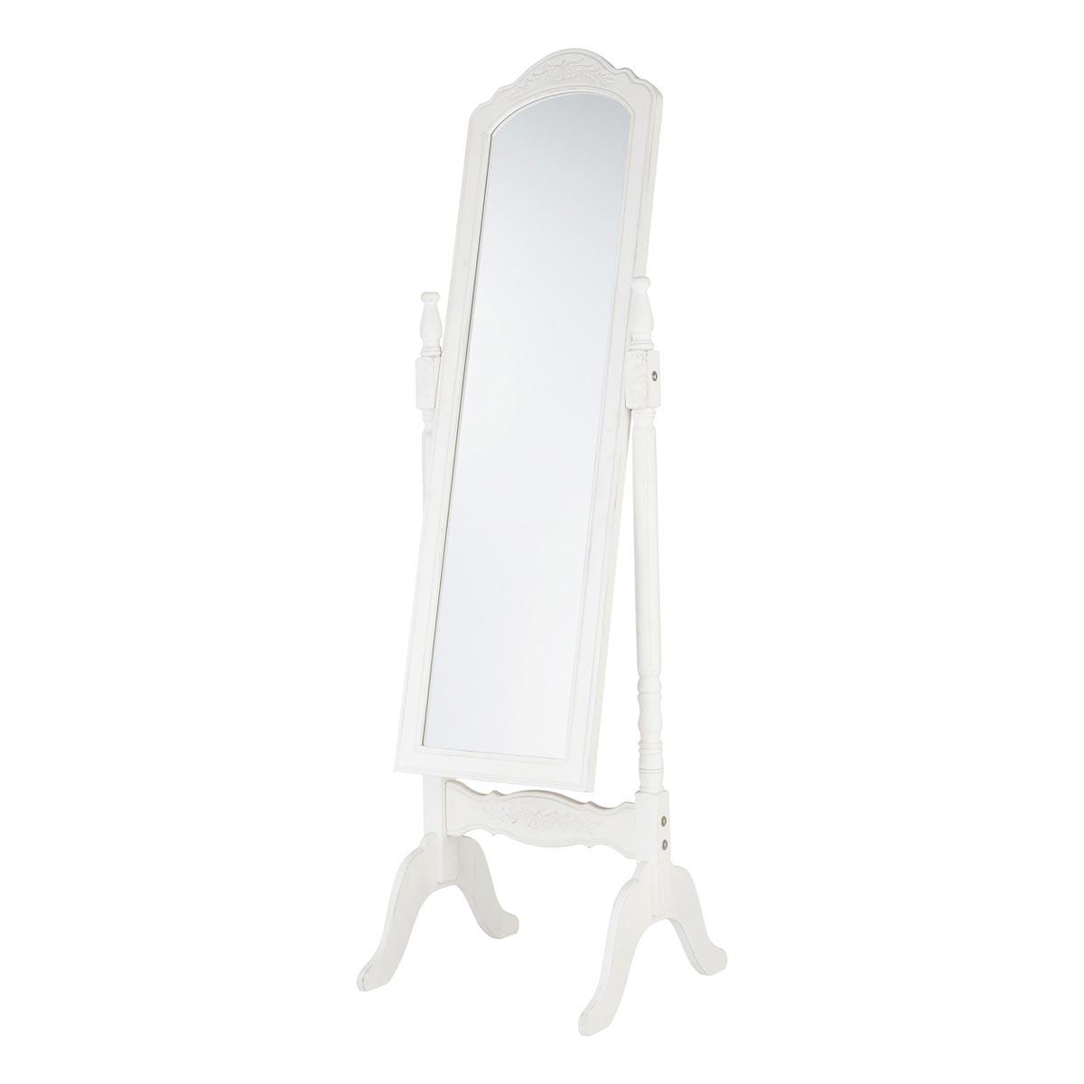 Foto espejo de pie y joyero camille foto 314007 for Espejo pie blanco