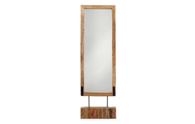 Foto espejo de pie de madera foto 659112 for Espejo pie madera