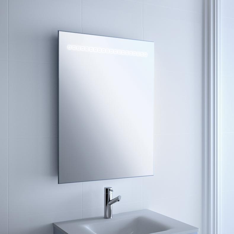 Foto espejo modelo paris de salgar de 60x80 cm con luz led - Espejo bano luz integrada ...