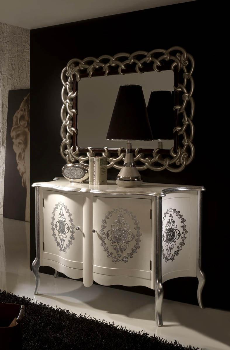 Foto espejos calados modelo lara foto 326035 for Espejos grandes con marco