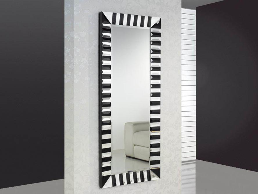Espejos De Decoracion Baratos ~   de madera y dm, acabado en negro Preparado para colgarse en posici?n