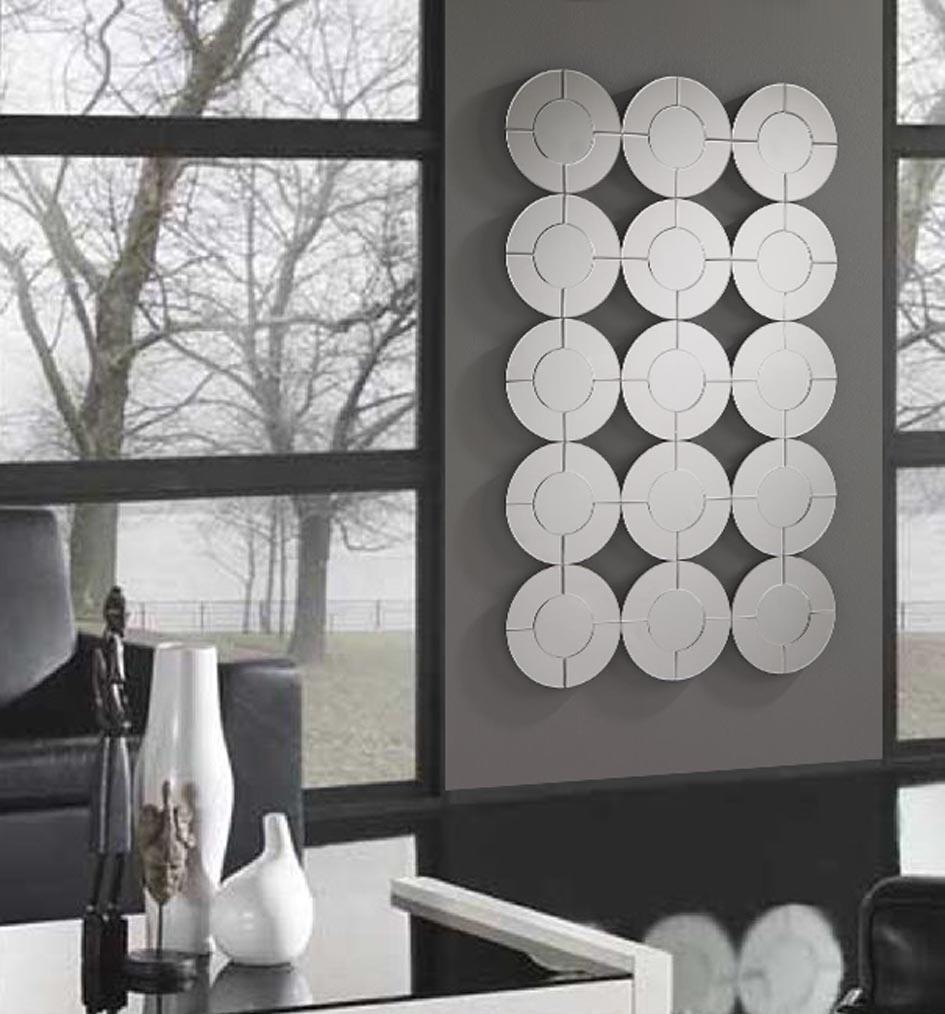 Foto espejos modernos de cristal modelo tunez foto 875582 for Espejos plateados modernos