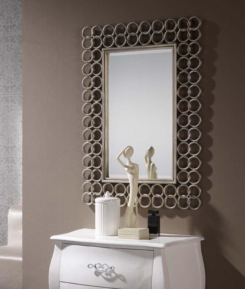 Foto espejos alta decoraci n espejo modelo 30 2915 foto 2378 for Espejos de pared modernos