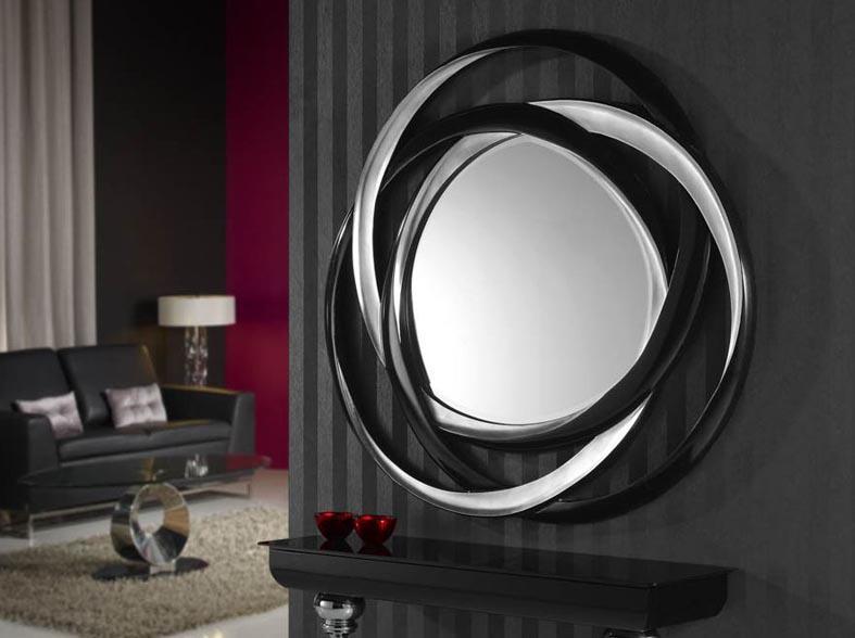 Foto espejos modernos de cristal modelo brasilia foto 326043 for Espejos originales