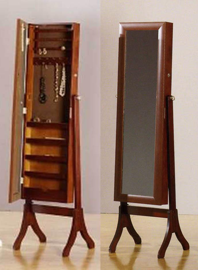 Foto joyeros espejos vestidores modelo fine classic for Espejo de pie blanco