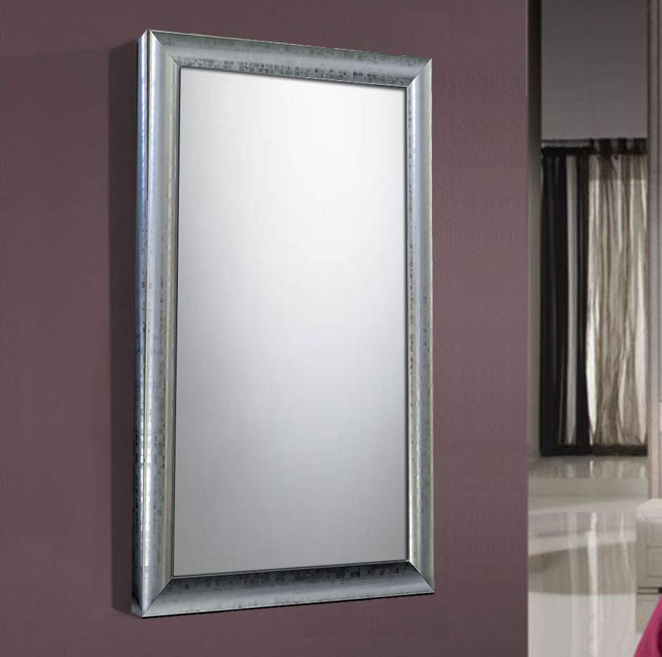 Foto espejos vestidores de pared colecci n fine nogal for Espejo pared madera